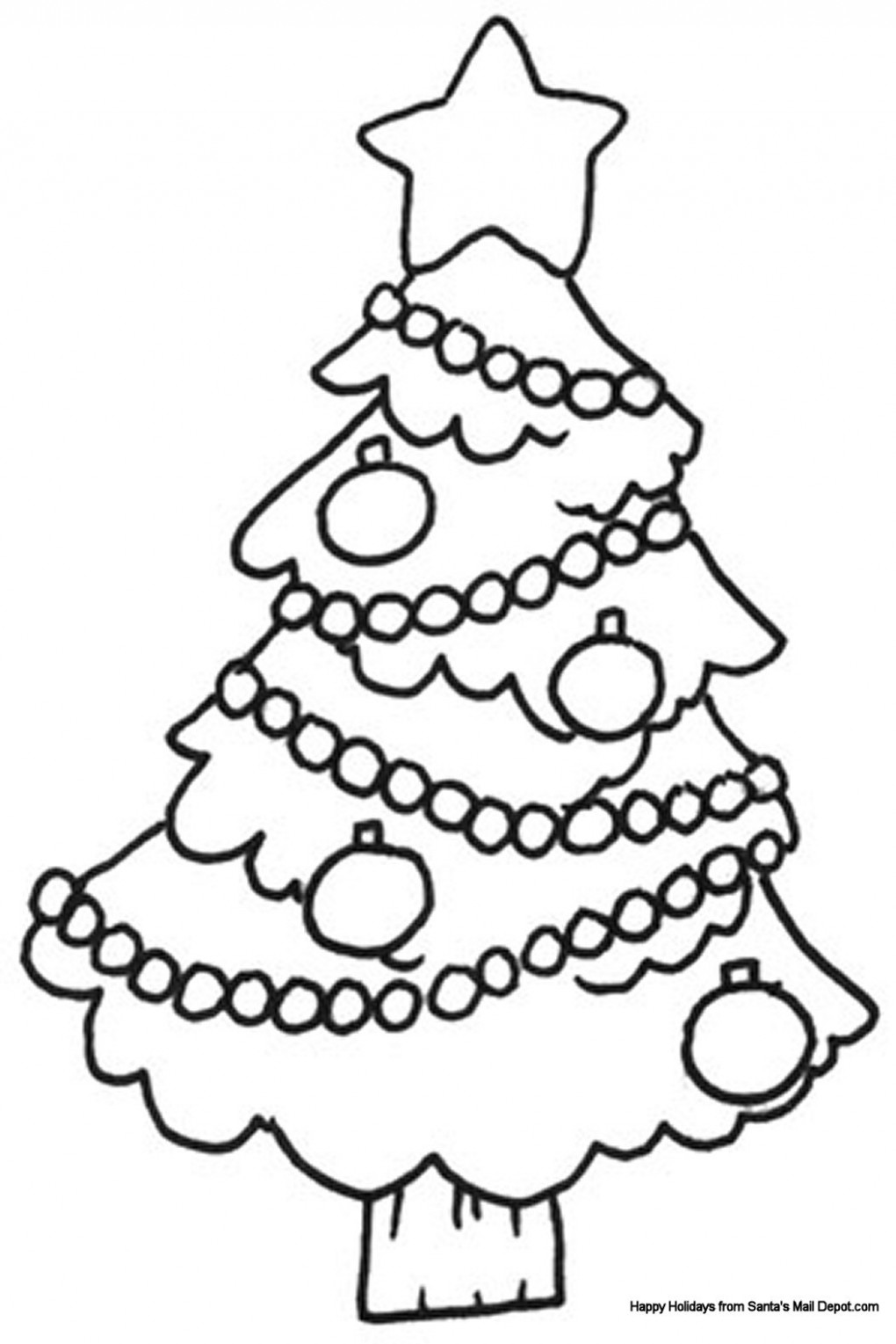 Other ~ Printable Toddler Christmas Coloring Pages ~ Coloring Tone