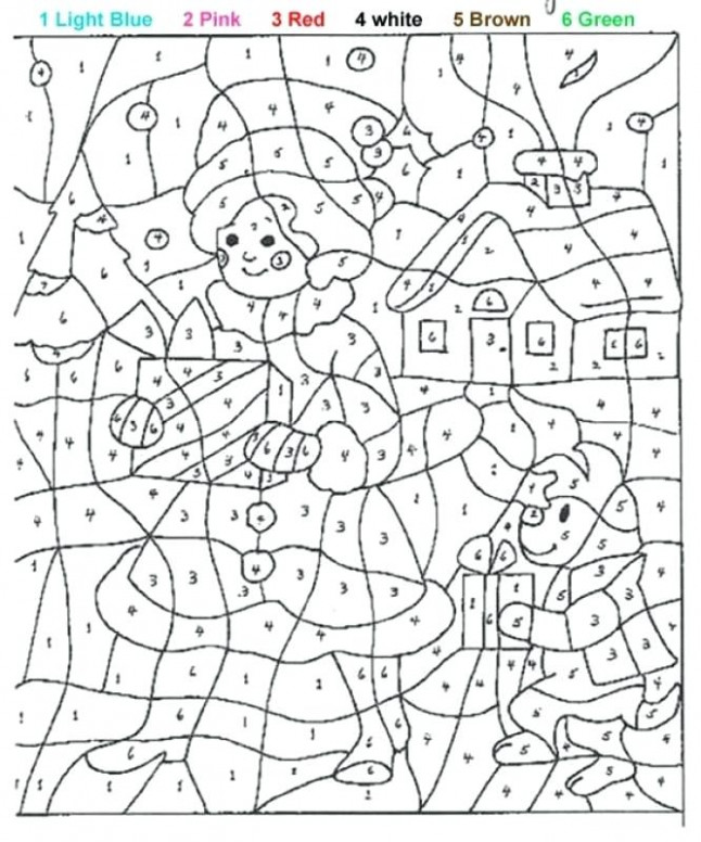 Paint By Number Printable Paint By Numbers For Adults Printable ..