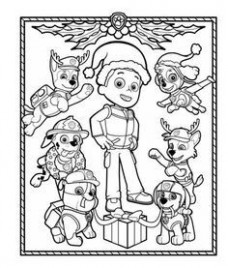 PAW Patrol Holiday Coloring Pack | s | Paw patrol coloring, Paw ...