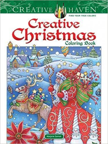 PDF DOWNLOAD] Creative Haven Creative Christmas Coloring Book (Adult ..