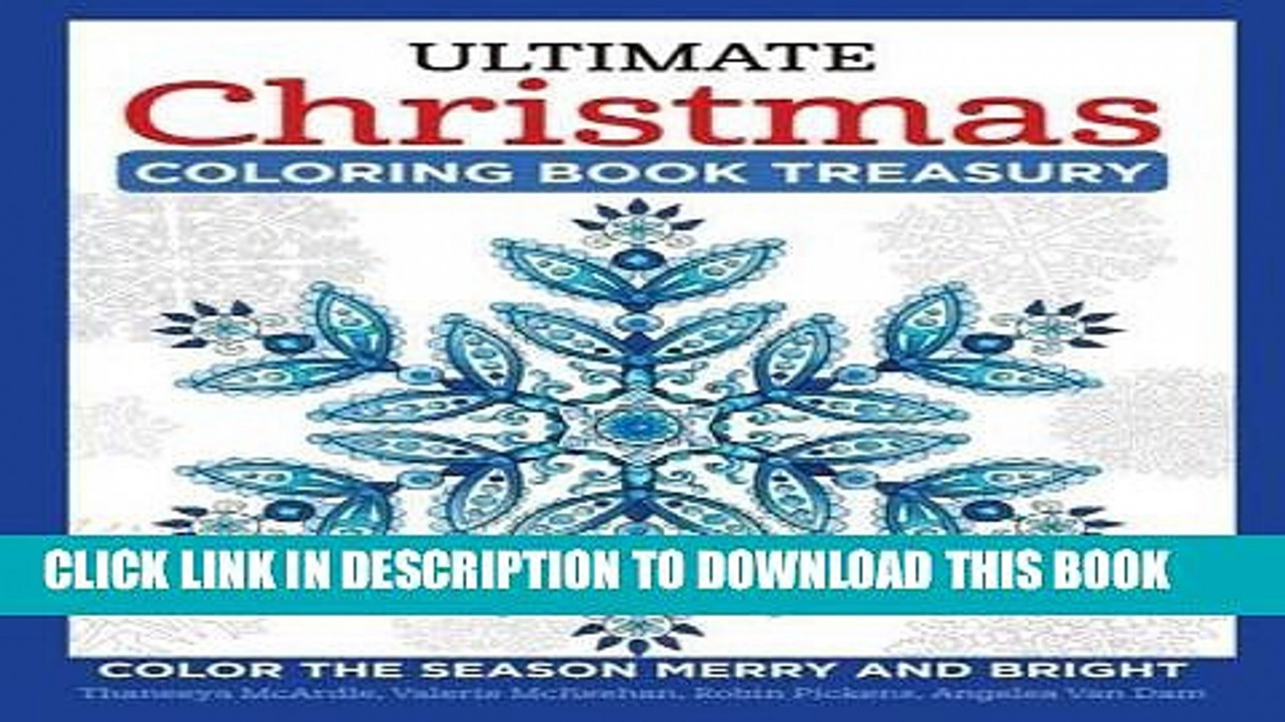 PDF] FREE Ultimate Christmas Coloring Book Treasury: Color the ..