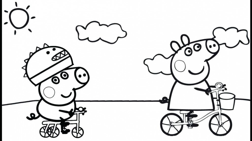 Peppa Pig Coloring Game Pig Coloring Book Or Pig Colouring Book With ..