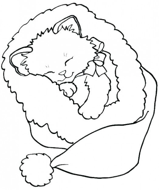 pete the cat christmas coloring page – alellajove