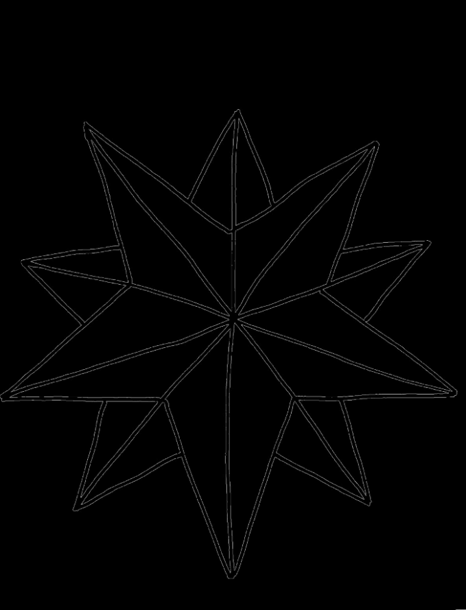 Pictures A Nice Christmas Star Coloring Pages | school / Kid's Klub ..