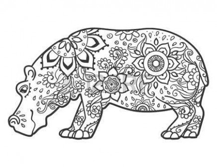 Pin by Gayla Lucky on Hippo | Hippo crafts, Hippo tattoo, Fiona the ..