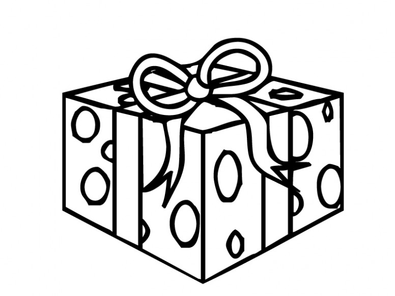 Present Coloring Pages – Christmas Coloring Pages Presents