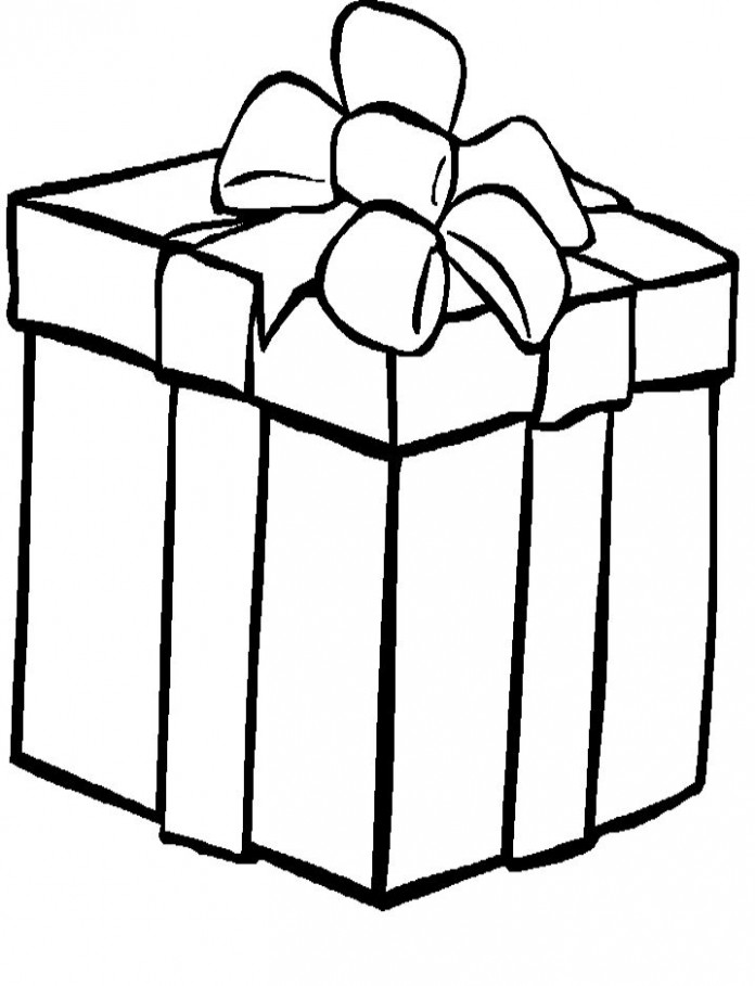 Presents Coloring Pages | Holiday Coloring Pages | Christmas present ..