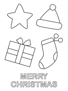 Printable Christmas Coloring Pages – Mr Printables – Christmas Coloring For Preschool