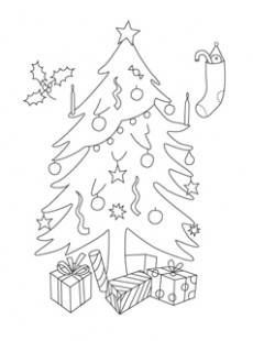 Printable Christmas Coloring Pages – Mr Printables – Christmas Coloring Pages Big
