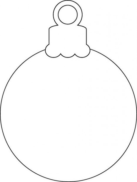 Printable Christmas Ornament Coloring Page Free Pdf Download At ...