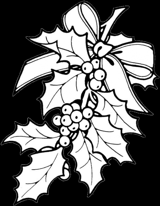 printable christmas ornament patterns | Christmas Holly Coloring ..