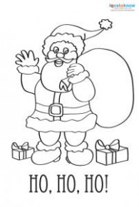 Printable Coloring Christmas Cards | LoveToKnow
