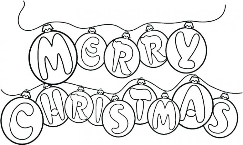 Printable Coloring Pages Of Christmas Ornaments Coloring Pages ..