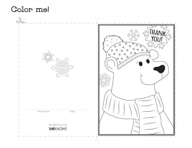 Printable Colouring Christmas Cards Card Printable Coloring Pages ...