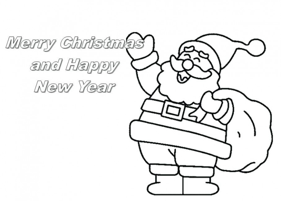 Printable Colouring Christmas Cards Full Size Of Free Printable ..