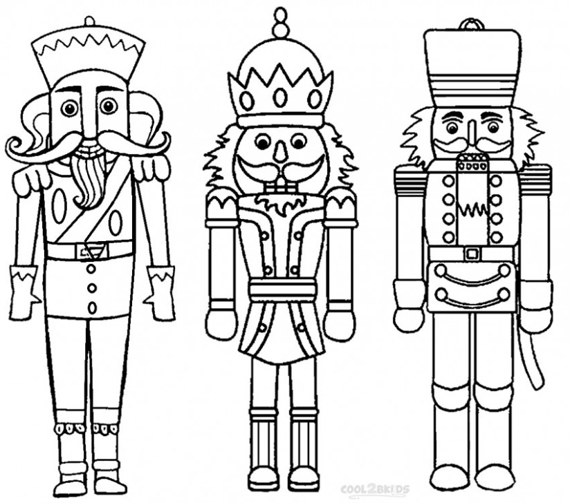 Printable Nutcracker Coloring Pages For Kids | Cool12bKids – Christmas Coloring Pages Nutcracker