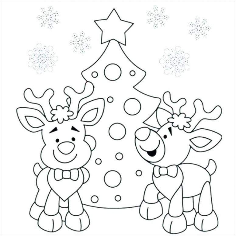 Printable Santa Coloring Pages Printable Color Pages Coloring Pages ...