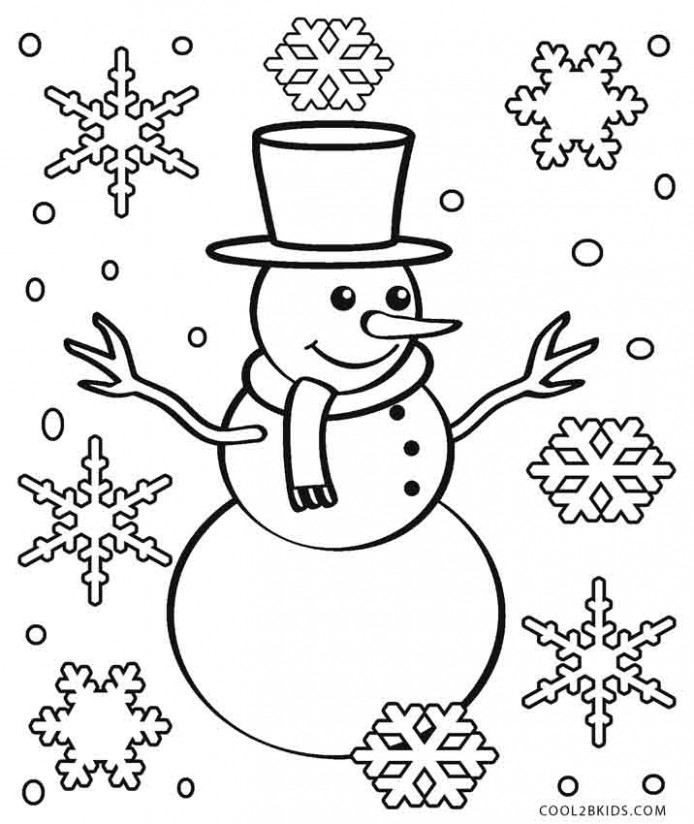 Printable Snowflake Coloring Pages For Kids | Cool17bKids – Christmas Coloring Pages Snowflakes