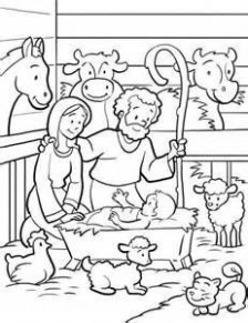 Religious Christmas Coloring Pages Jesus – profitclinic