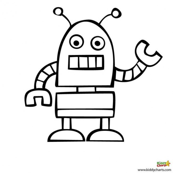 Robot Coloring Pages | Free download best Robot Coloring Pages on ..