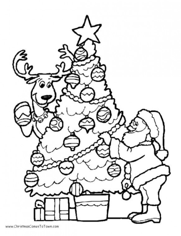 rudolph 16 Christmas Tree Coloring Pages - Santa Coloring Pages ...