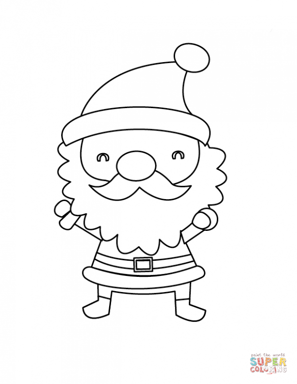 Santa Claus Coloring Pages | Islandersshoponline