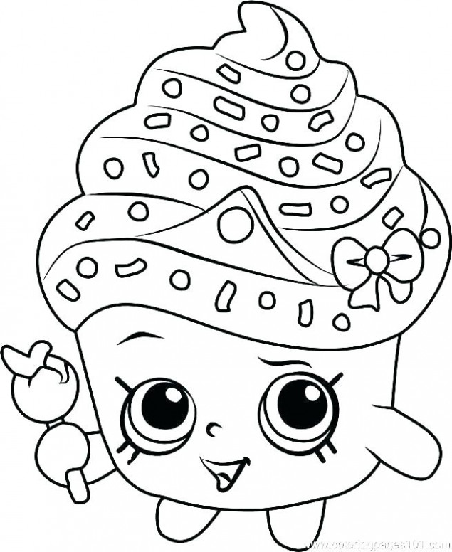 shopkins free printable coloring pages – coloring book fun acessoriza