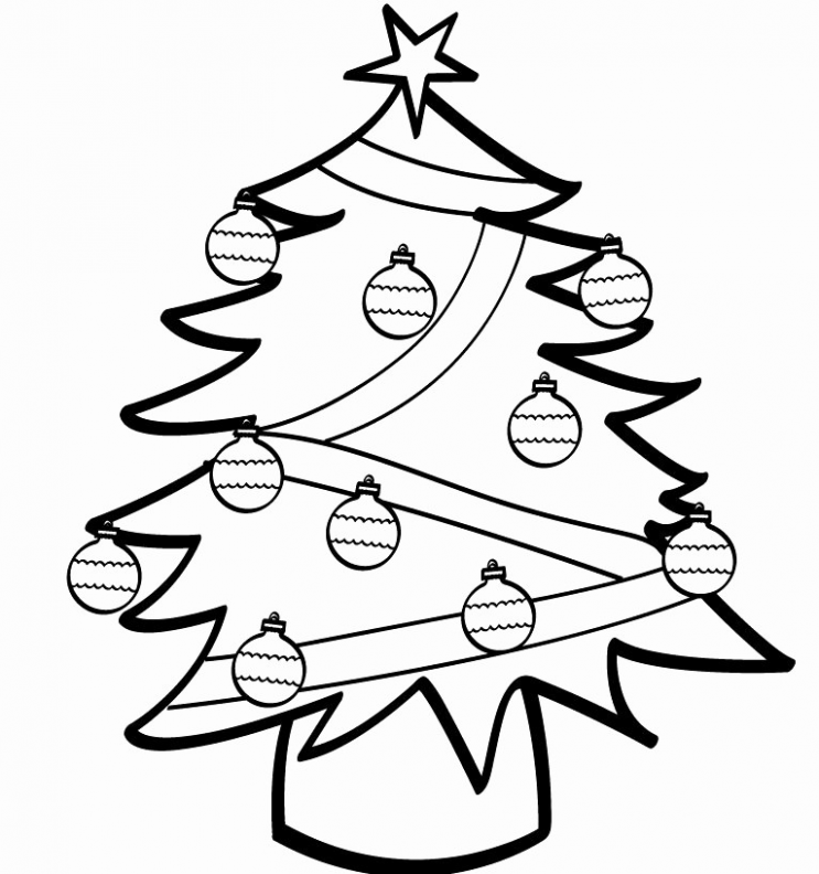 Simple Christmas Coloring Pages Best Of Simple Christmas Color Pages ..