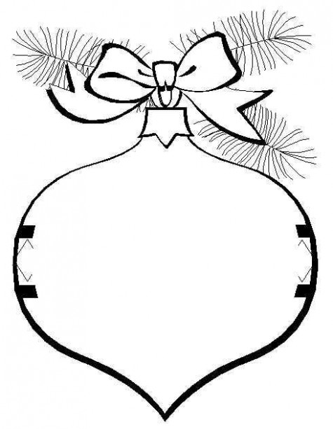 Simple Christmas Coloring Sheets | Printable Pages – Cliparts