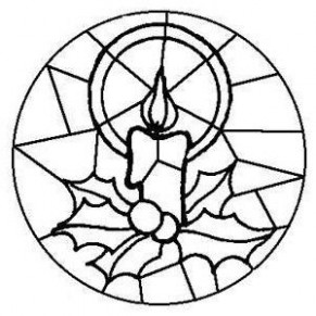 stained glass christmas coloring pages | Coloring Pages – Christmas Coloring Pages Stained Glass