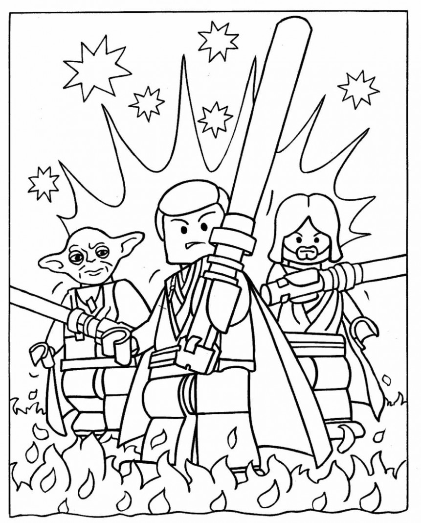 Star Wars Coloring Pages 18- Dr. Odd