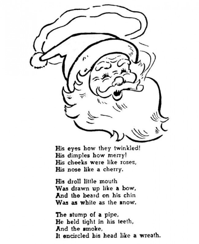 Story Of Christmas Coloring Pages Fresh Cute Christmas Poems for ...