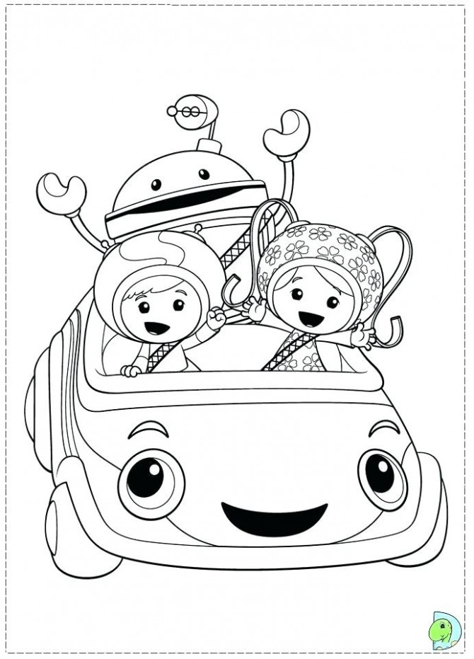 Team Coloring Page Pages Umizoomi Games For Girls – nailmania.info