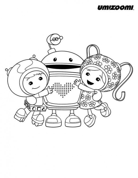 Team Umizoomi Christmas Coloring Pages | Coloring Pages