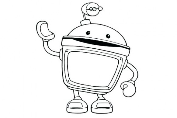 Team Umizoomi Coloring Coloring Page Team Coloring Pages Team Bot ...
