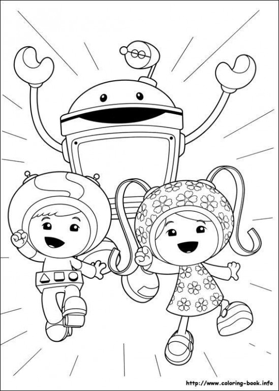 Team Umizoomi Coloring Pages Fresh Team Umizoomi Coloring Pages ...