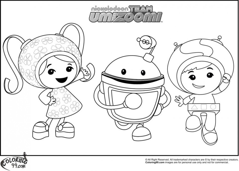 team umizoomi coloring pages | well it is not very clear about who ...