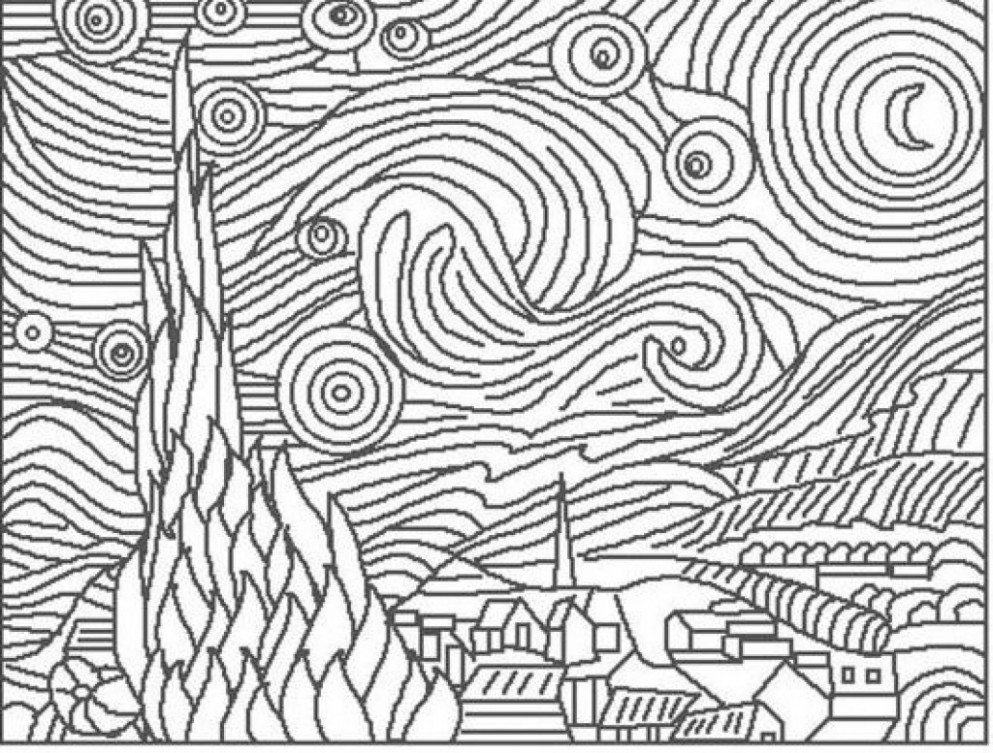 The Best Coloring Pages for Girls Intermidiet – Best Collections ..