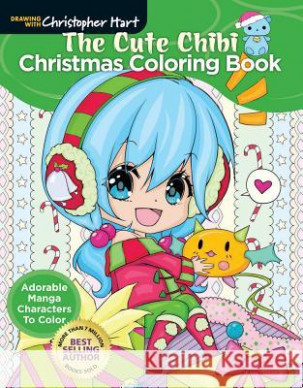 The Cute Chibi Christmas Coloring Book Adorable Manga Characters to ..