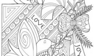 The Gift of Peace, Love, and Joy Coloring Page | coloring pages ...