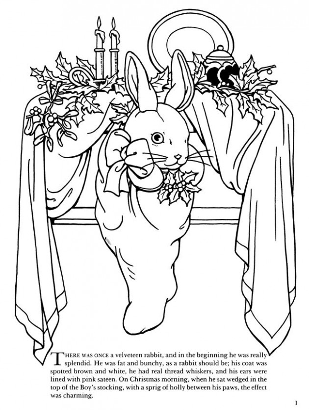 The Velveteen Rabbit Coloring Book: The Complete Story | free ...