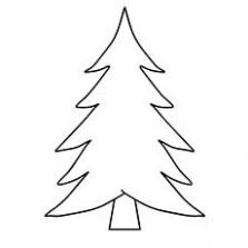 Top 15 Free Printable Christmas Tree Coloring Pages Online – Christmas Coloring Pages Tree