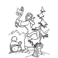 Top 15 Free Printable Christmas Tree Coloring Pages Online – Christmas Reading Coloring Sheets