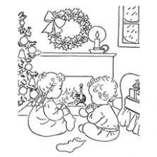 Top 19 Free Printable Christmas Coloring Pages Online – Christmas Eve Coloring Sheets