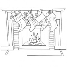 Top 20 Free Printable Christmas Stocking Coloring Pages Online