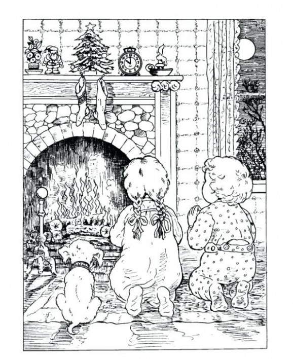 victorian christmas coloring pages coloring pages coloring pages ...