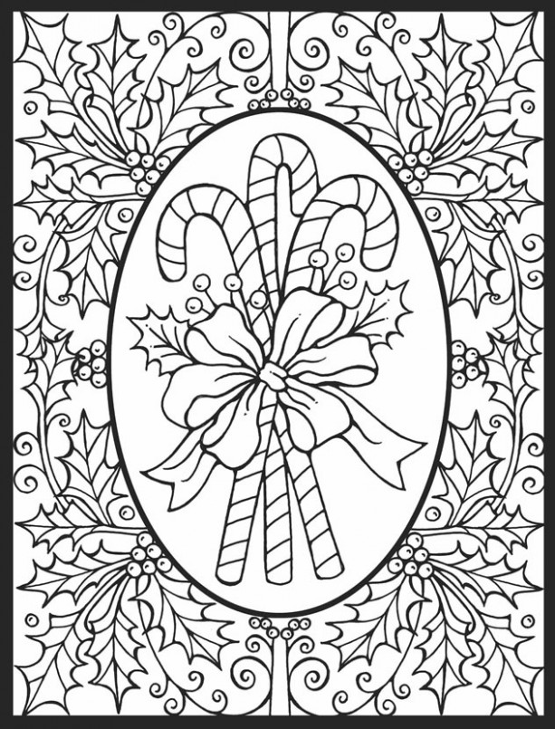 Welcome to Dover Publications – Christmas Coloring Pages Stained Glass