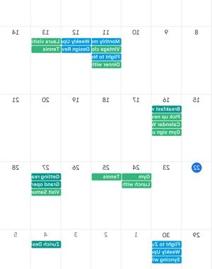 12 Month Calendar 2018 Dddy Google Calendar Time Planner On the App Store