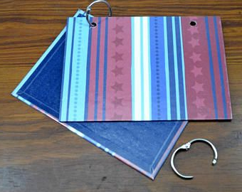 2 Ring Binder Dwdk Index Card Binder Cover and Rings Only Clearance Sale 4 X