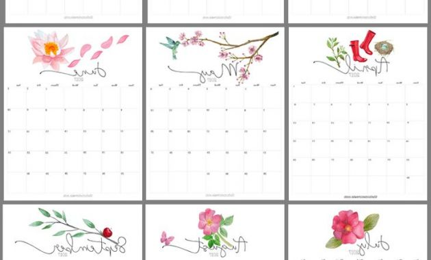 2017 and 2018 Calendar Printable 9fdy Yearly Printable Calendar